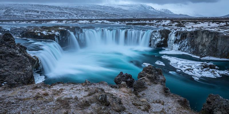 Mejores Paisajes de Islandia - Cascada Godafoss