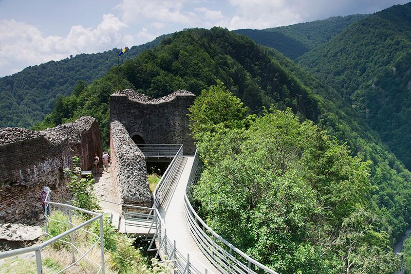 Castillo de Poienari - Viajar a Rumania tras Dracula