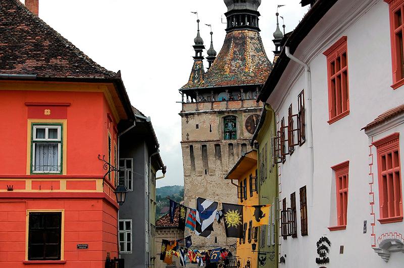 Sighisoara - Viajar a Rumania tras Dracula