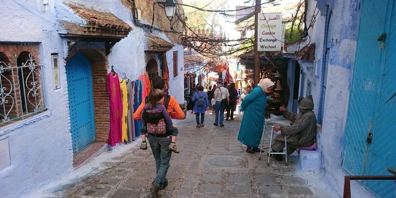 Chaouen - Marruecos en familia