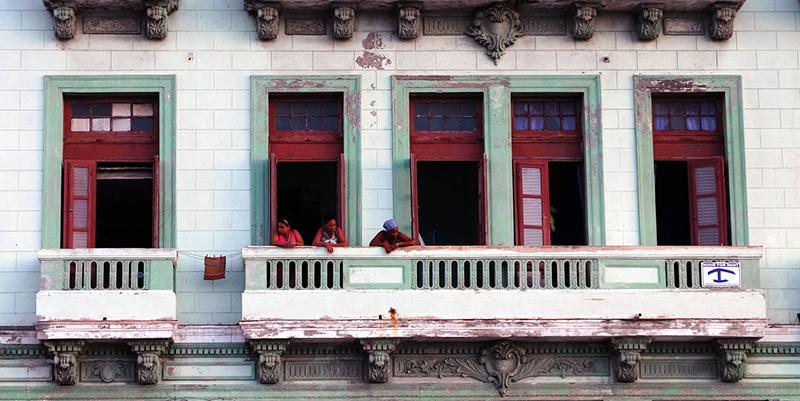 Cuba en casas particulares