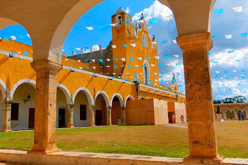 Izamal---Yucatan---Mexico