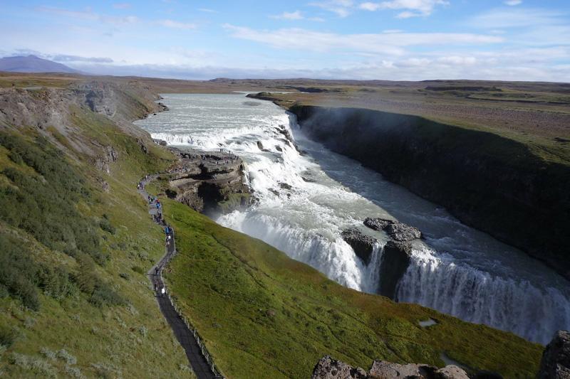 Mejores Paisajes de Islandia - Cascada Gullfoss