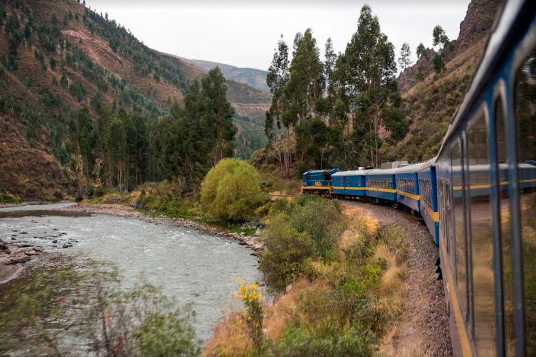 Tren-Valle-Sagrado Perú Machu Picchu