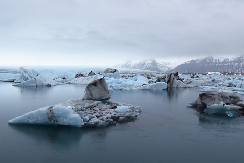 Mejores paisajes de Islandia - Laguna glaciar Jökulsárlón