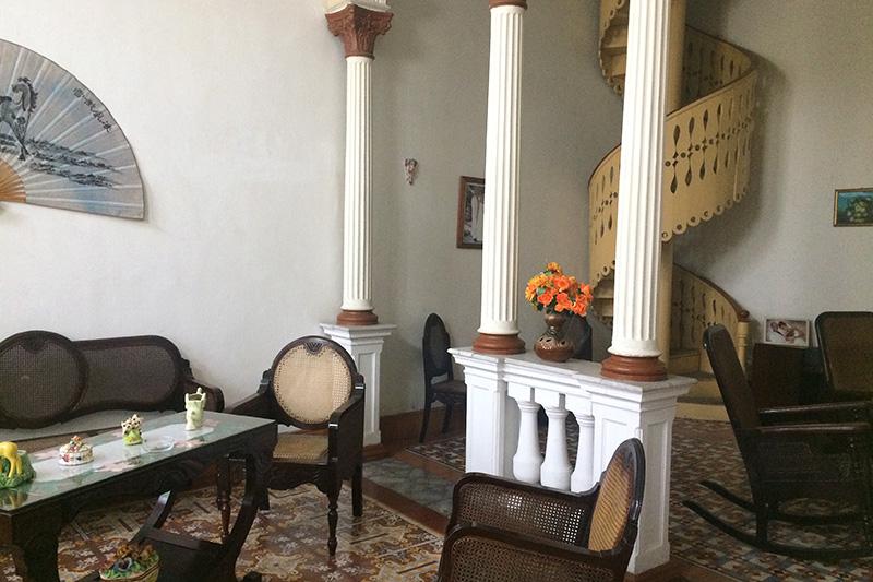 Casa particular en Cuba